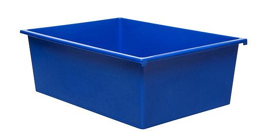 3 Kid Smart Storage Tubs Large, Blue - PK 1