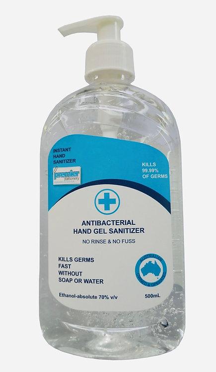 Premier Instant Hand Antibacterial Gel Sanitizer - 500mL