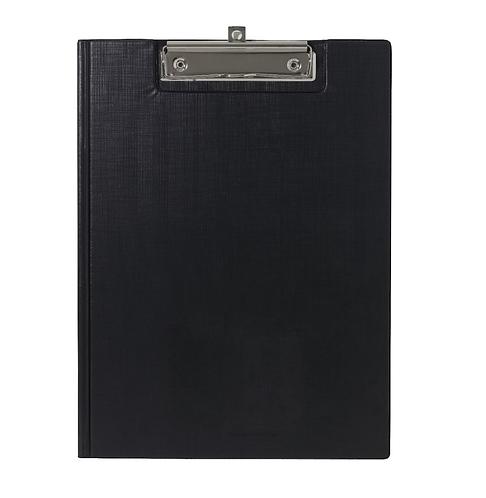 Clipfolder A4 PVC Cover Black