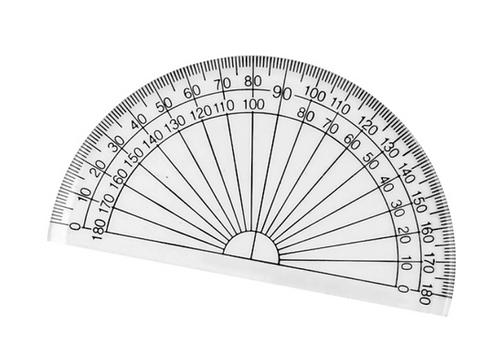 180 Degree Protractor