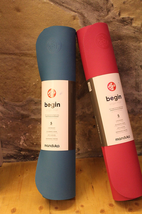 Yogamatte manduka begin 172 x 61cm x 5mm