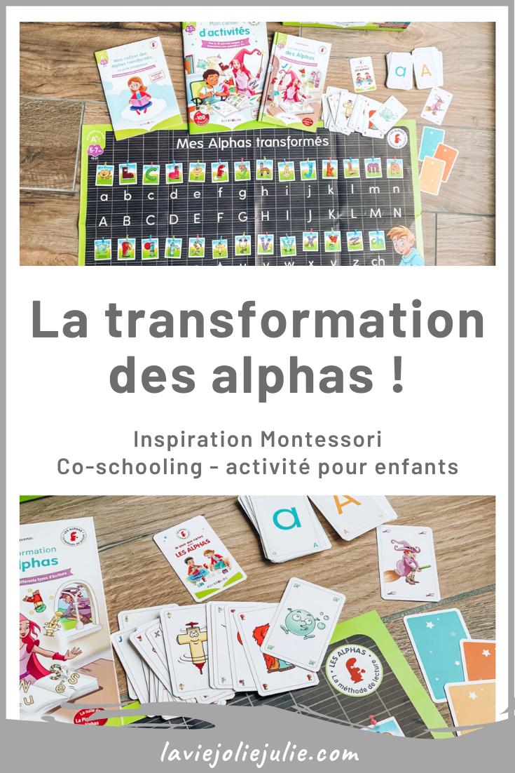 La transformation des alphas !