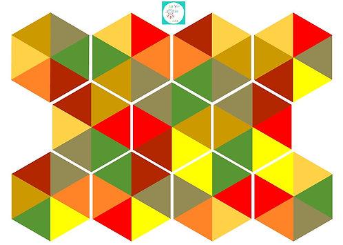 Hexagones d'automne