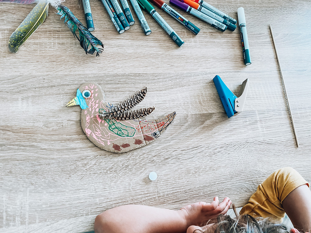 DIY : un joli oiseau ! Giotto