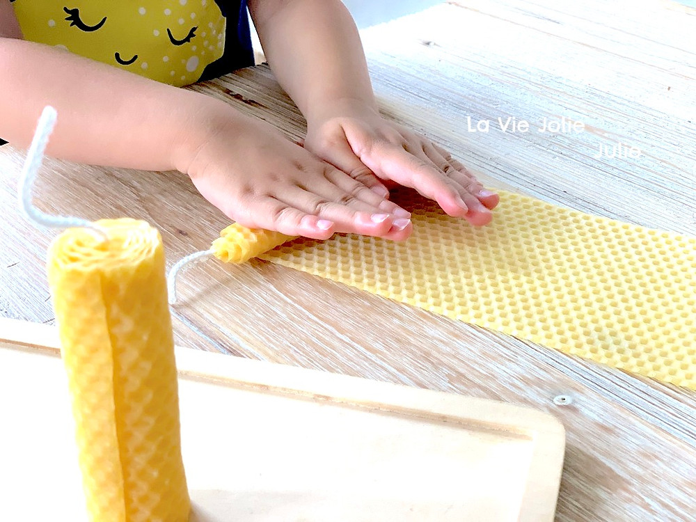 Fabriquer des bougies en cire d'abeille