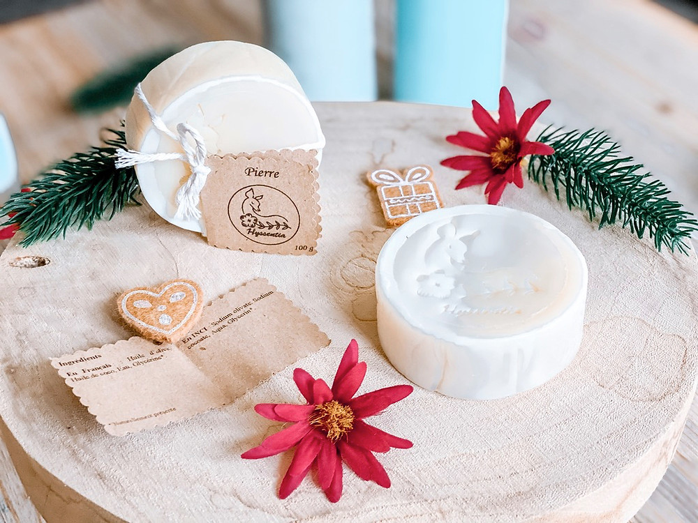 Savon Pierre - Un savon artisanal fait-main pour toute la famille !