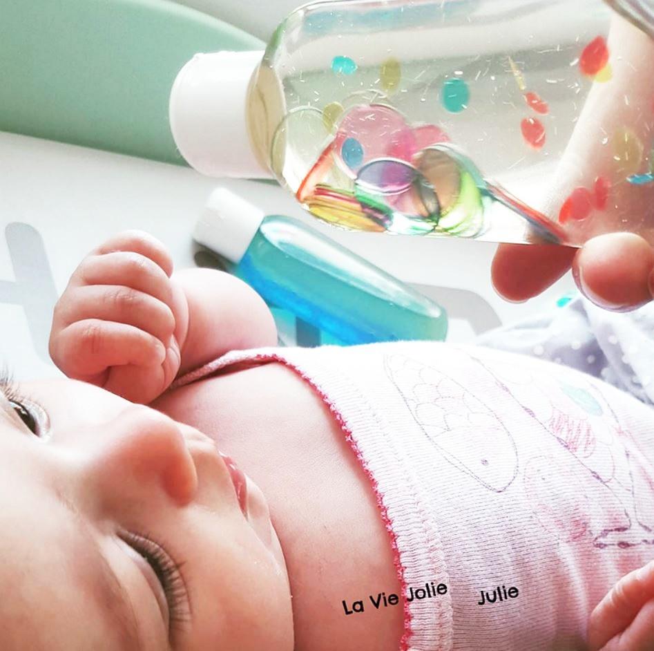 Nos trois premières bouteilles sensorielles
