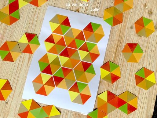 Formes géométriques automnales
