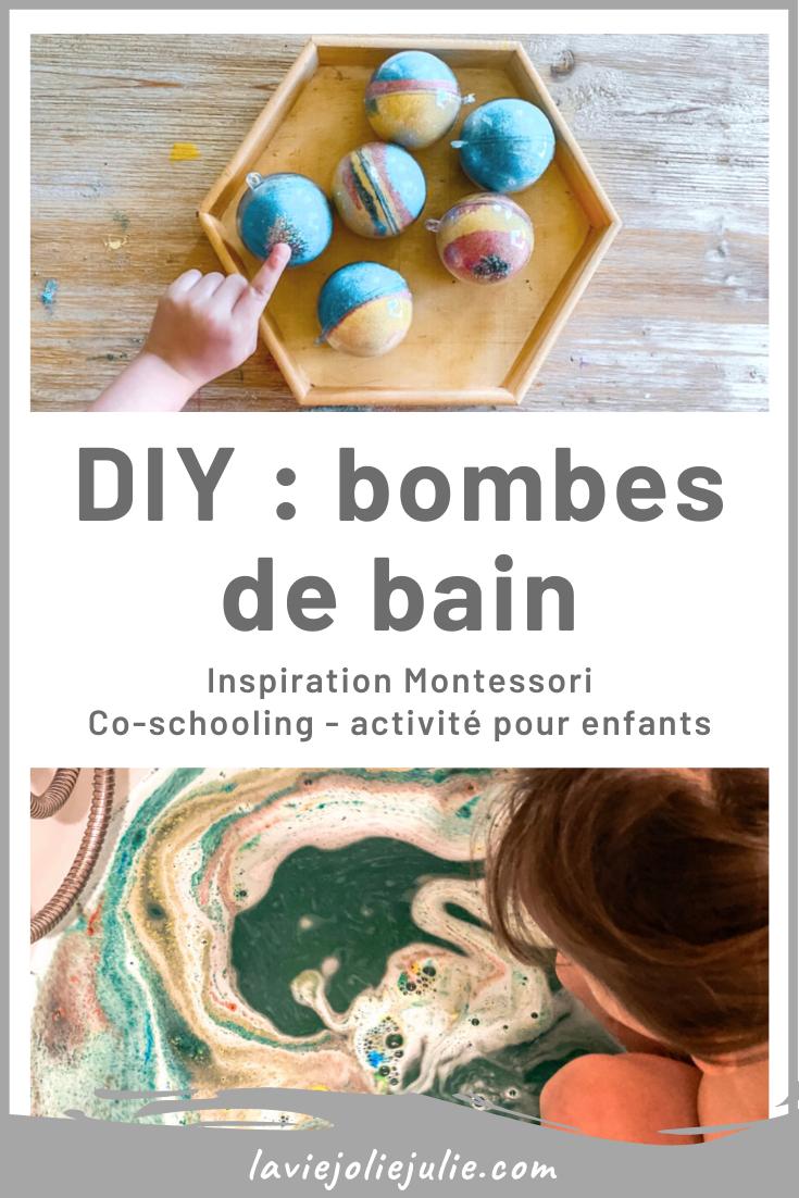 DIY : bombes de bain