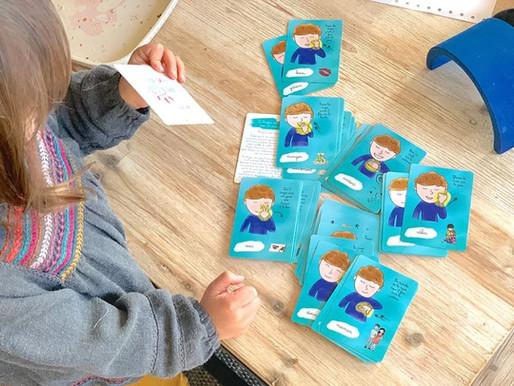 La langue des signes avec un tout-petit : Mes p'tites cartes !