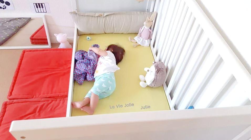 Lit au sol pour bébé #1 : on se lance !