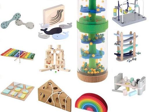 Mon amour pour les jouets en bois