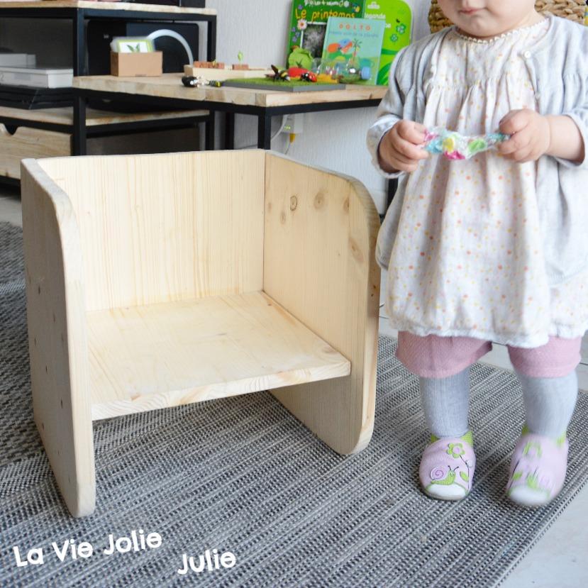Notre Chaise évolutive Montessori Cie Activités Pour Tout