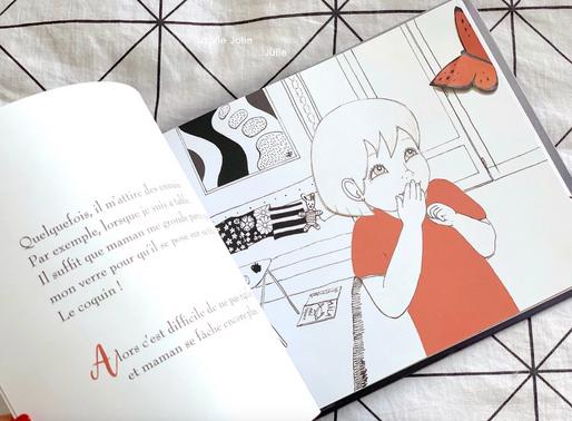 Livre sur les émotions : La petite fille au PAPILLON