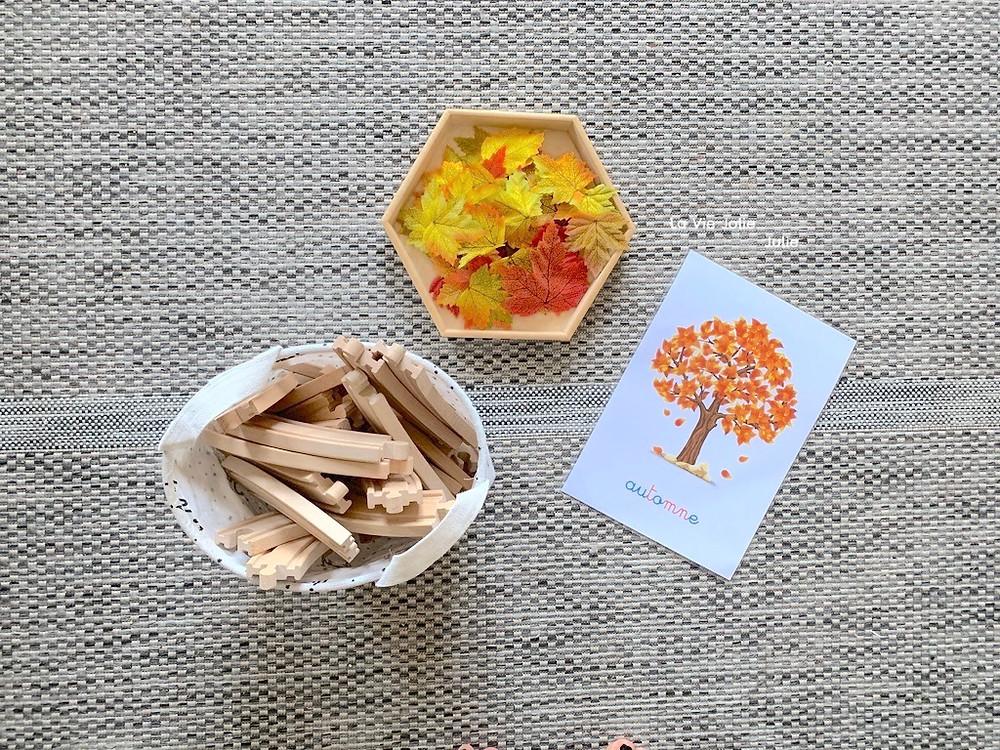 Invitation à créer : un arbre d'automne - activité d'automne pour enfant