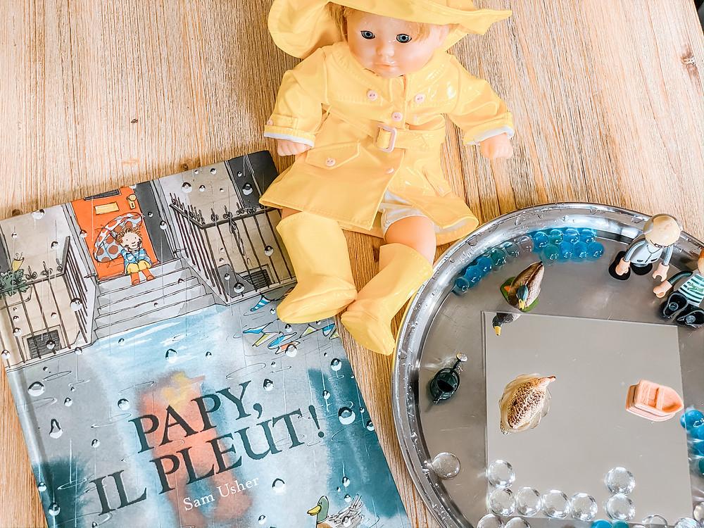 Invitation à jouer : Papy, il pleut !