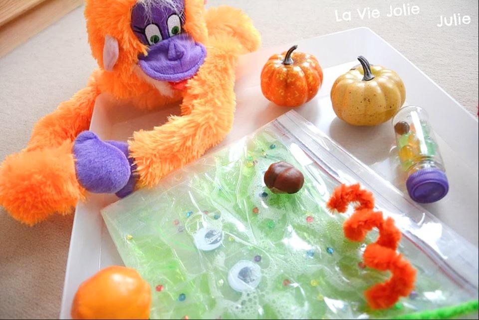 Plateau sensoriel : Halloween