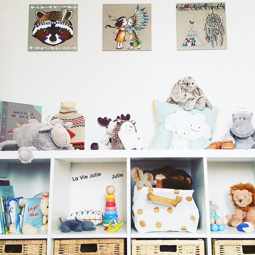 Nido d'inspiration Montessori pour nouveau-né