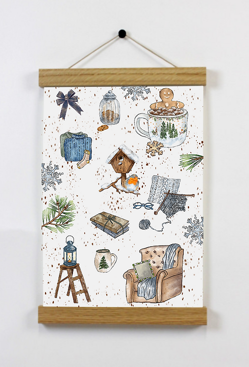 Affiche A5 - Cocooning Home