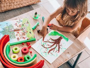 Un cerisier d'été - activité pour enfant