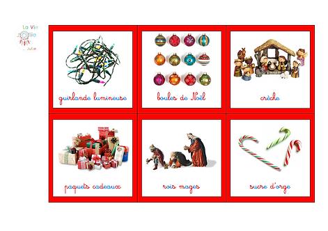Imagier Noël