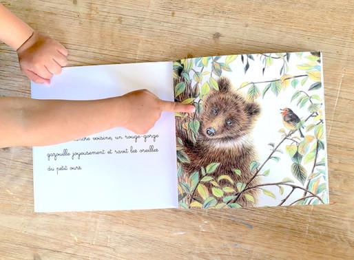 Livre : Un ourson sur un arbre
