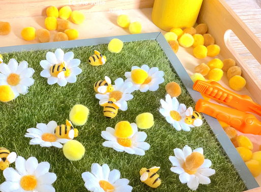 Plateau : les abeilles butinent !