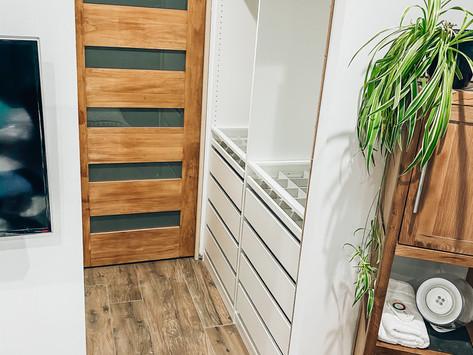 Réduire un dressing IKEA en largeur