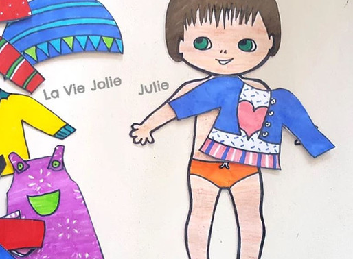 DIY : habille ton personnage