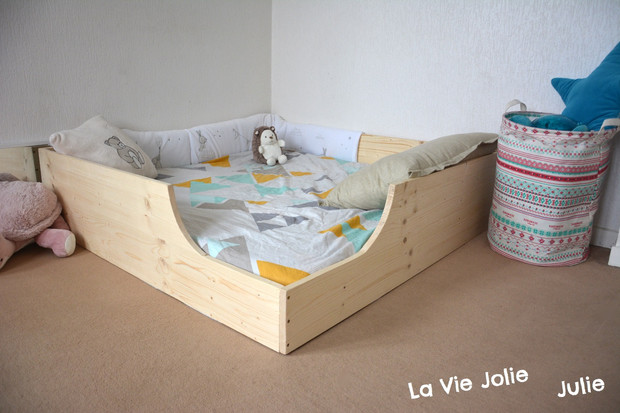 lit au sol pour bébé #2 : nouvelle version ! (montessori & cie