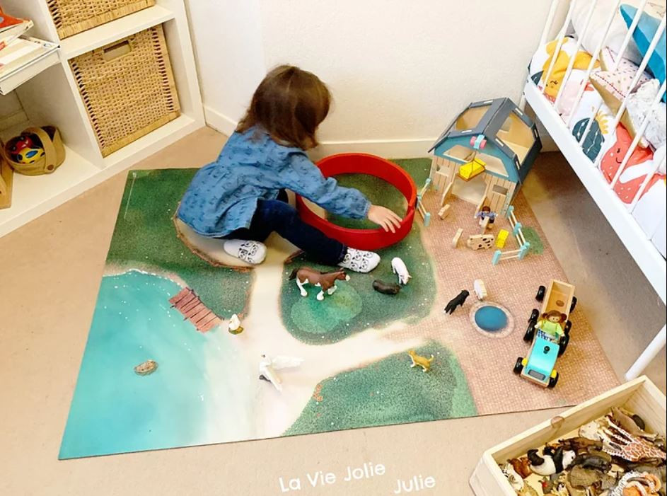 Carpeto, le tapis de jeu parfait !