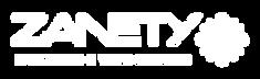 Zanety logo branco