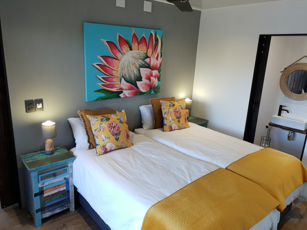 Eco Cabin 1: 2nd Bedroom