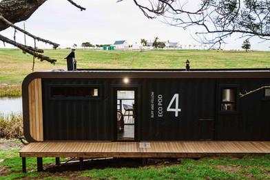 Eco Pod 4 Entrance