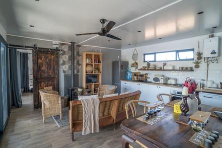 Eco Cabin 2 Living Room
