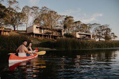 Canoes @ Eco Pods
