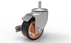 Caster Wheel Back Iso
