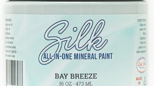 Dixie Belle Paint Silk all-in-one mineral paint Bay Breeze 16oz