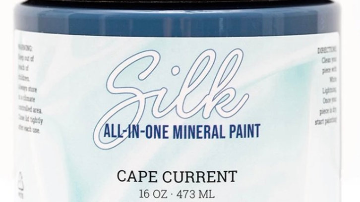 Dixie Belle Paint Silk all-in-one mineral paint Cape Current 16oz