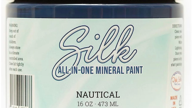 Dixie Belle Paint Silk all-in-one mineral paint Nautical 16oz