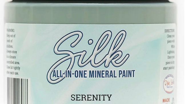 Dixie Belle Paint Silk all-in-one mineral paint Serenity 16oz
