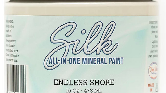 Dixie Belle Paint Silk all-in-one mineral paint Endless Shore 16oz