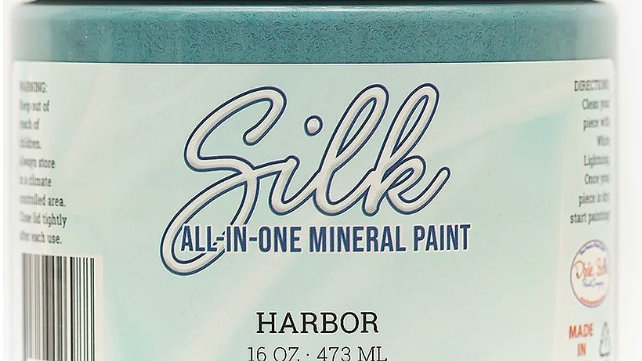 Dixie Belle Paint Silk all-in-one mineral paint Harbor 16oz