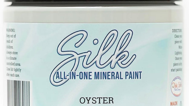 Dixie Belle Paint Silk all-in-one mineral paint Oyster 16oz