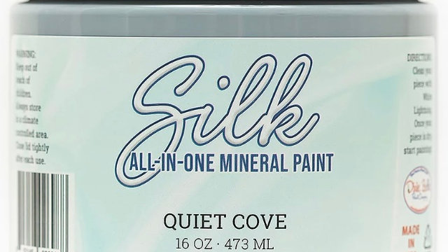 Dixie Belle Paint Silk all-in-one mineral paint Quiet Cove 16oz