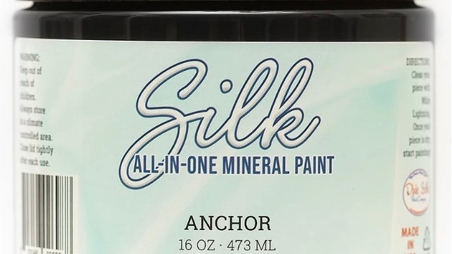 Dixie Belle Paint Silk all-in-one mineral paint Anchor 16oz