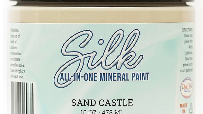 Dixie Belle Paint Silk all-in-one mineral paint Sand Castle 16oz