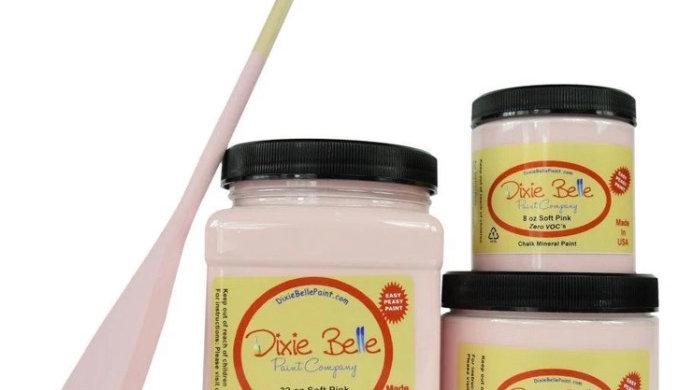Dixie Belle Paint Chalk Paint Soft Pink 8oz