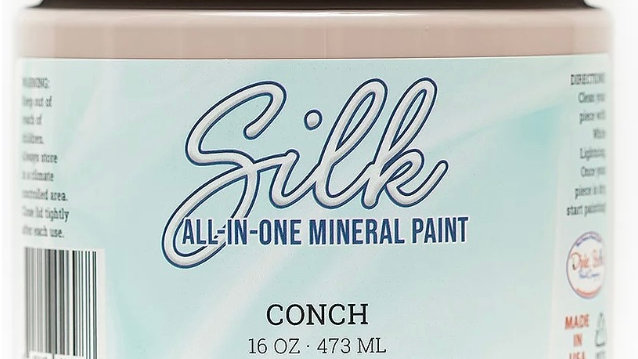 Dixie Belle Paint Silk all-in-one mineral paint Conch 16oz
