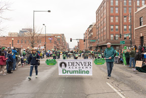 St. Patrick's Day Drumline Parade